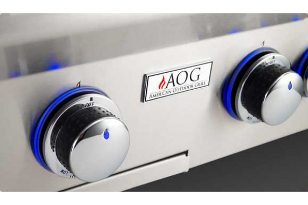 AOG 36-inch L Series Built In Grill With Rotisserie Backburner