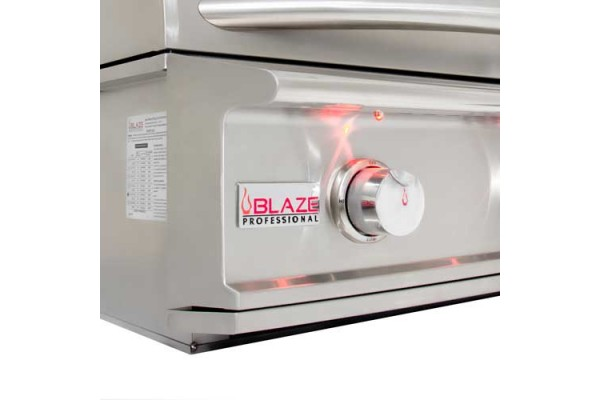 Blaze Professional Lux 44-inch 4 Burner Built-in Gas Grill with Rear Infrared Burner