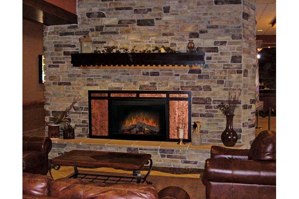 """Dimplex 45"""" Deluxe Built-in Electric Firebox"""