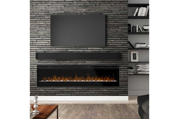 """Dimplex Prism Series 74"""" Linear Electric Fireplace"""