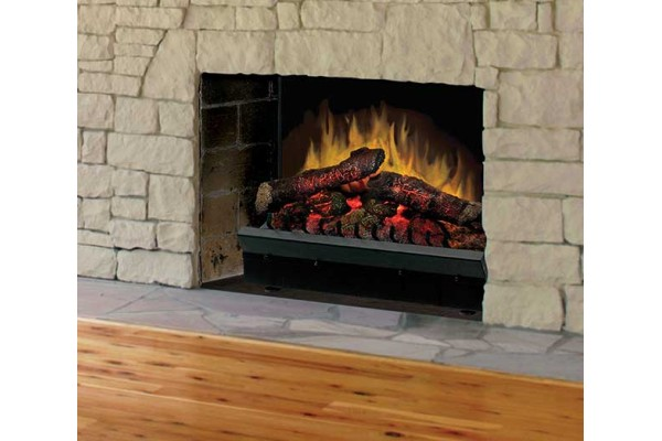 """Dimplex Deluxe 23"""" Log Set Electric Fireplace Insert"""
