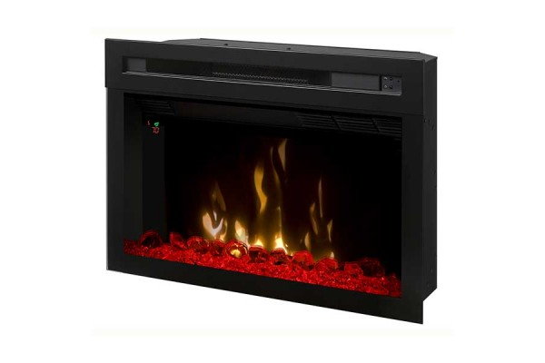 """Dimplex 26"""" Plug-in Electric Firebox with Acrylic Ice and Driftwood"""