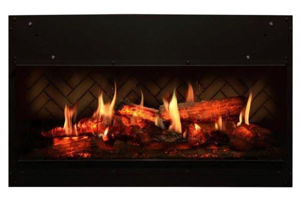 Dimplex 30-inch Opti-V Solo Linear Built-in Fireplace