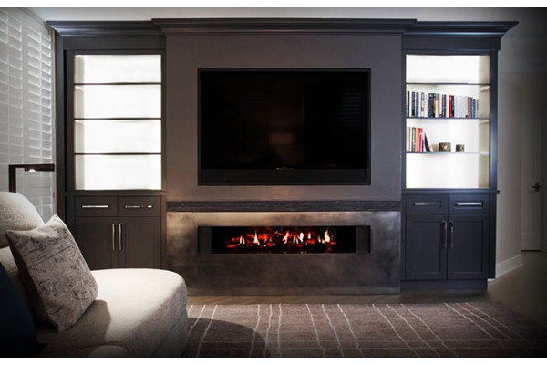 Dimplex 54-inch Opti-V Duet Linear Built-in Fireplace