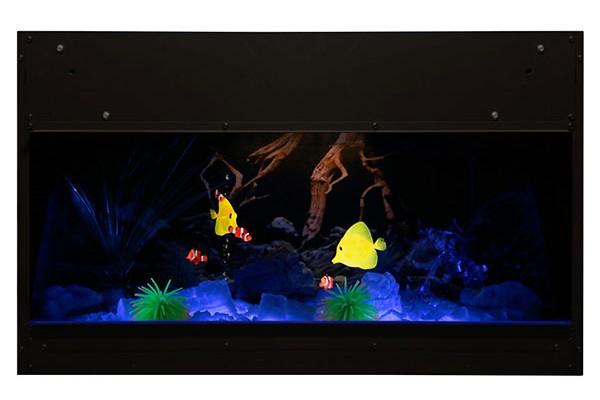 Dimplex Opti-V Built-in Aquarium