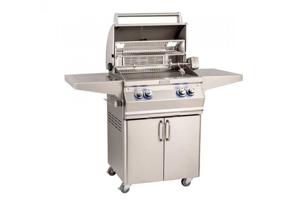 Fire Magic 24-inch Aurora A430s Portable Grill With Side Burner and Rotisserie