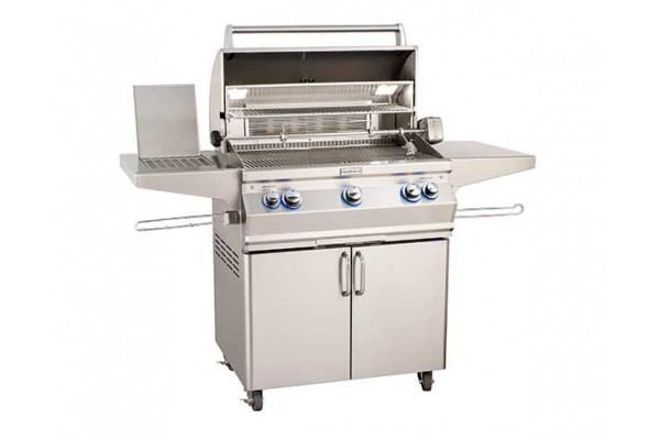 Fire Magic 30-inch Aurora A540s Portable Grill With Side Burner and Rotisserie