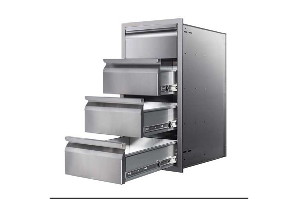 """Memphis 15"""" Four Drawer Stack"""