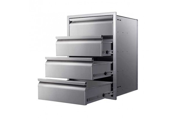 """Memphis 21"""" Four Drawer Stack"""