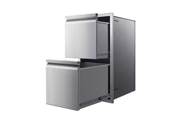"""Memphis 15"""" Two Drawer Stack"""