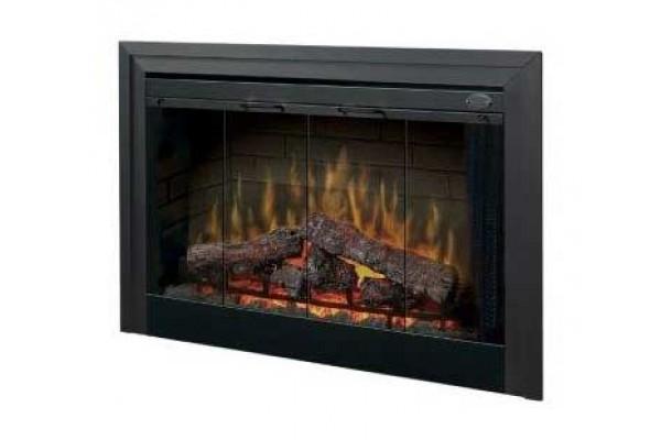 """Dimplex Glass Bi-Fold Look Door for 33"""" Deluxe Built-In Firebox"""