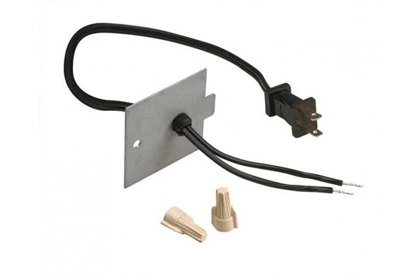 Dimplex 120V Power Supply Cord Accessory Kit for Built-In Fireboxes