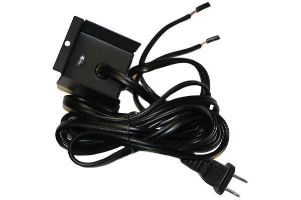 "Dimplex 120V Plug Kit for 74"" Galveston Linear Electric Fireplace"