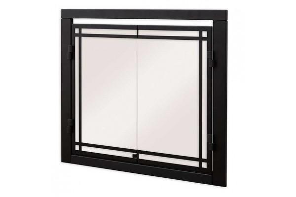 """Dimplex Revillusion 36"""" Portrait Double Glass Door"""