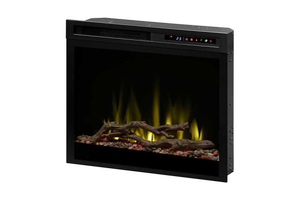 """Dimplex 28"""" Plug-in Electric Firebox with Acrylic Ice and Driftwood"""