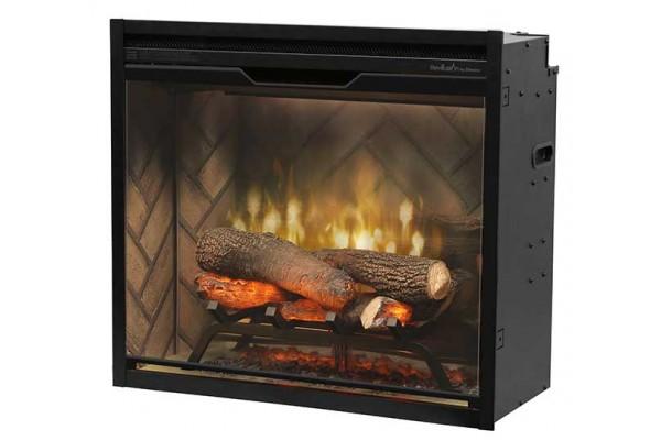 "Dimplex Revillusion 24""Built-in Firebox, Herringbone"