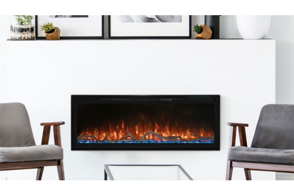 Modern Flames 100-inch Spectrum Slimline Wall Mount/ Recessed Clean Face Electric Fireplace
