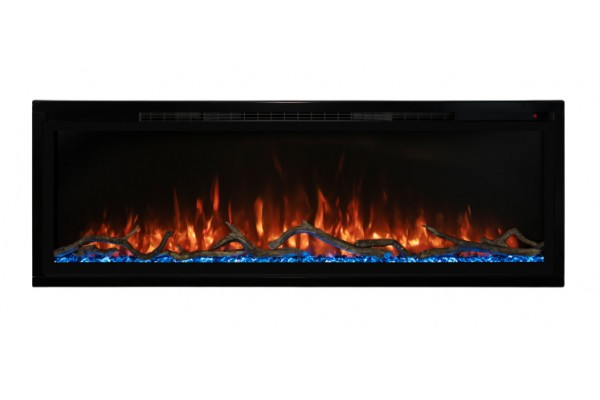 Modern Flames 50-inch Spectrum Slimline Wall Mount/ Recessed Clean Face Electric Fireplace