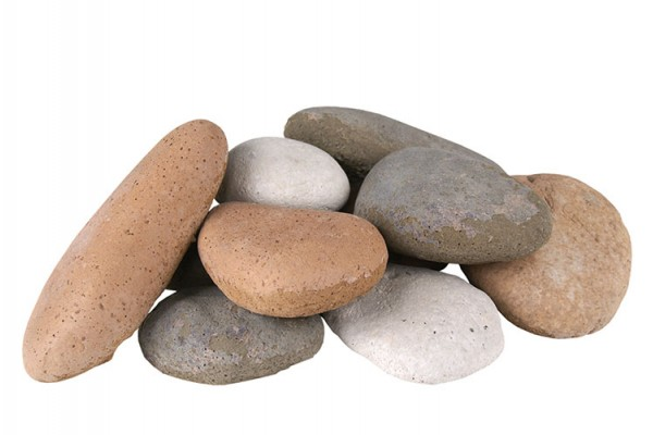 Real Fyre Assorted River Rock Fyre Stones