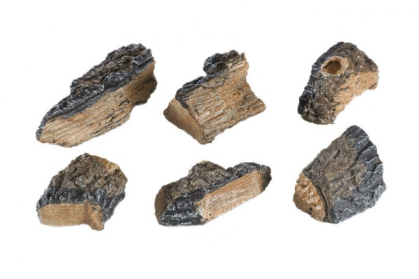 Real Fyre 6 Charred Wood Chips (Case of 6)