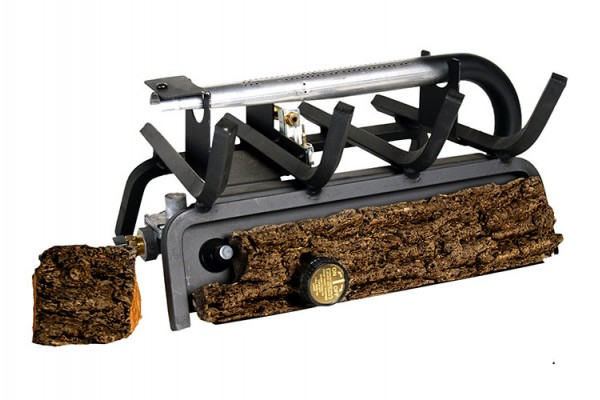 Real Fyre Valley Oak Vent Free Logs with G8E Series Vent Free Burner