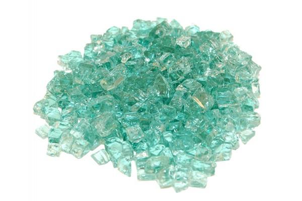 Real Fyre Emerald Fyre Glass