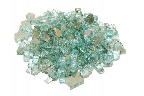 Real Fyre Emerald Reflective Fyre Glass