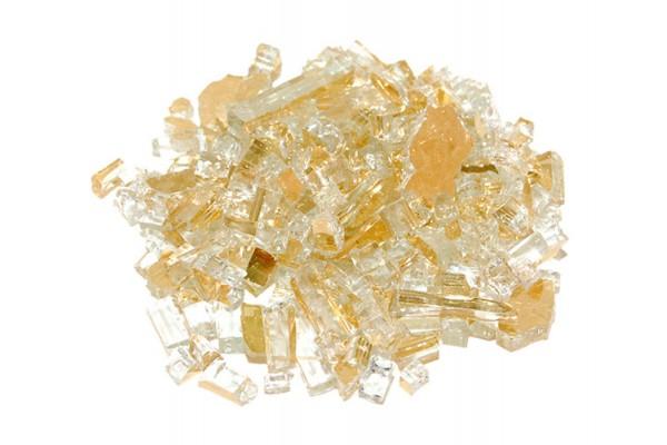 Real Fyre Gold Reflective Fyre Glass