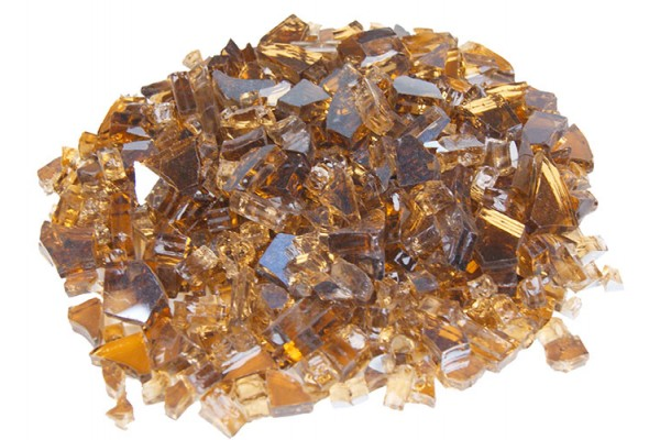 Real Fyre Copper Reflective Fyre Glass