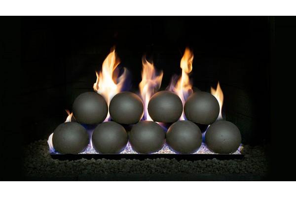 """Real Fyre 4"""" Epic Black Fyre Spheres, Sets"""
