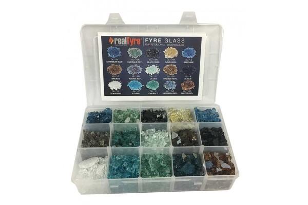 Real Fyre Glass Sampler