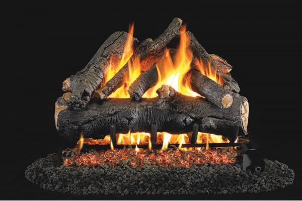 Real Fyre American Oak Logs with G46 Series Burner