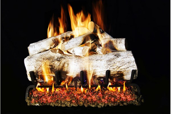 Real Fyre Mountain Birch Gas Logs Only