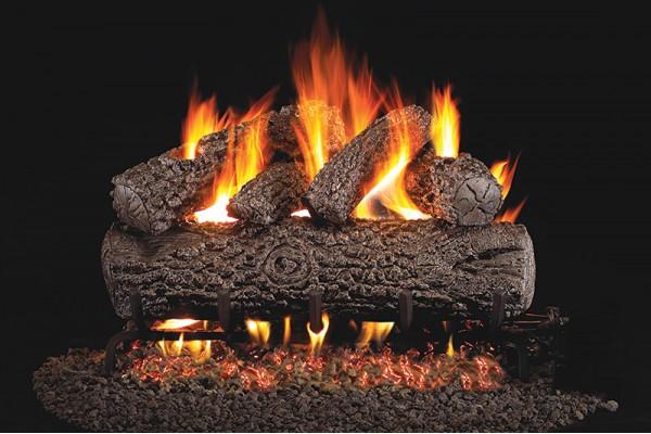 Real Fyre Post Oak Gas Logs Only