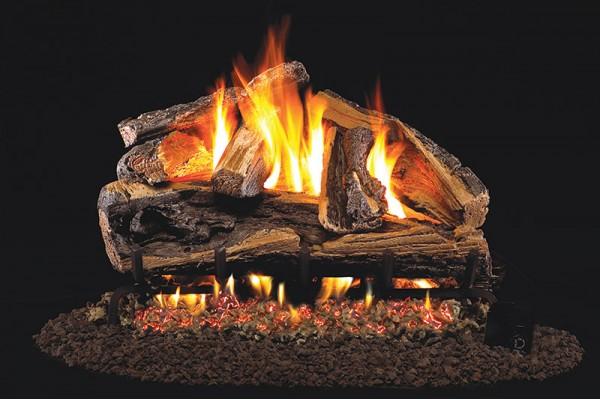 Real Fyre Rugged Split Oak Gas Logs Only