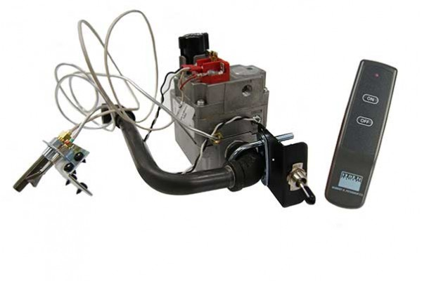 Real Fyre High Capacity Standard Pilot Kit with Basic Transmitter and Receiver