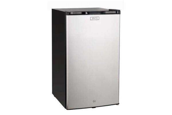 AOG Refrigerator, 4 Cubic Foot with Locking Door