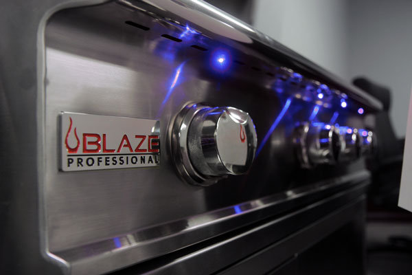 Blaze LED Kit for 4 Burner Premium LTE and Professional Grills
