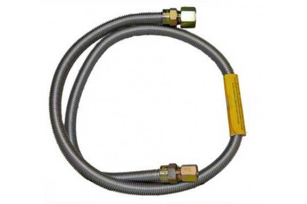 """Fire Magic 60"""" Stainless Steel Flex Connector (7/8"""" Outside Diameter)"""