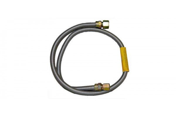 """Fire Magic 48"""" Stainless Steel Flex Connector (1/2"""" Outside Diameter)"""