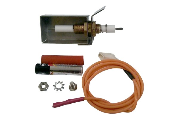 Fire Magic Ignitor Electrode Kit with Wiring, Collector Box and Bracket