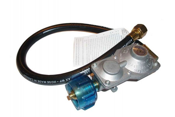 Fire Magic 2-Stage Propane Regulator and Hose, Portable Grills