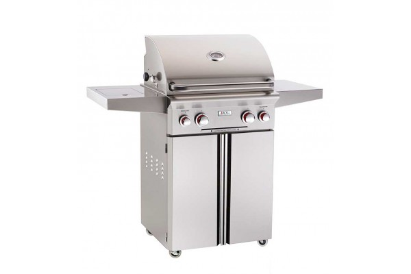 AOG 24-inch T Series Portable Grill With Rotisserie and Single Side Burner