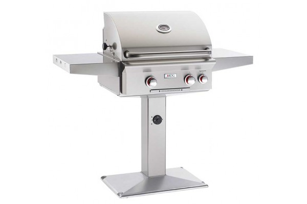 AOG 24-inch T Series Patio Post Grill With Rotisserie Backburner