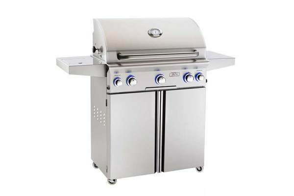 AOG 30-inch L Series Portable Grill With Rotisserie and Single Side Burner