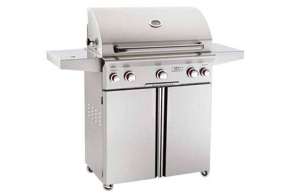 AOG 30-inch T Series Portable Grill With Rotisserie and Single Side Burner