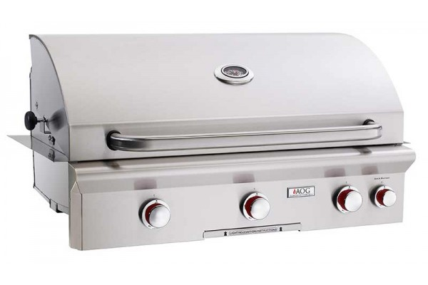 AOG 36-inch T Series Built In Grill With Rotisserie Backburner