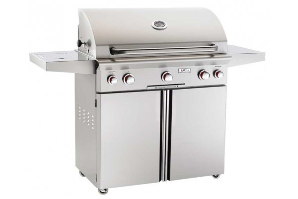 AOG 36-inch T Series Portable Grill With Rotisserie and Single Side Burner