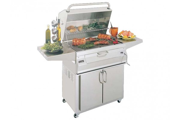 Fire Magic 24-inch Charcoal Portable Grill with Oven Hood