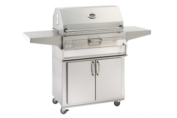 Fire Magic 30-inch Charcoal Portable Grill with Smoker Hood